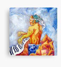 ZEN PIANO Canvas Print