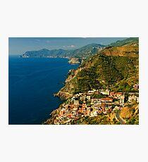 Riomaggiore, Cinque Terre, Liguria, Italy Photographic Print