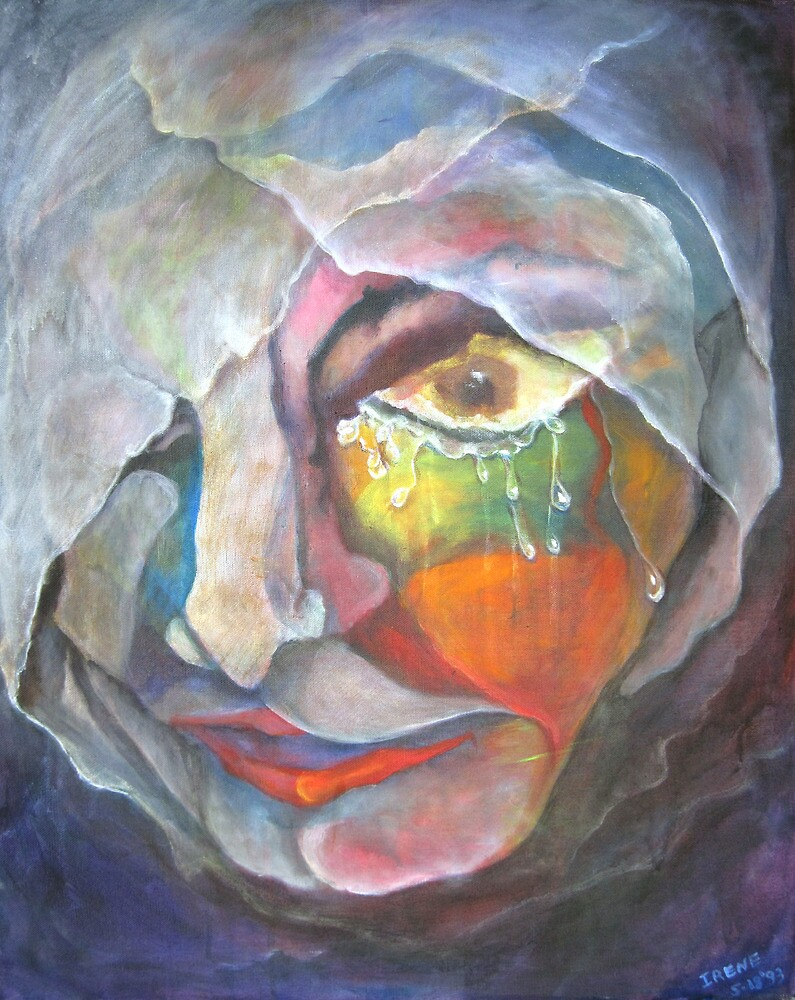 ONE FACE OF GRIEF by IRENE NOWICKI