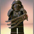 TMNT Teenage Mutant Ninja Turtles Master Shredder Custom Minifigure 'Customize My Minifig' by Customize My Minifig