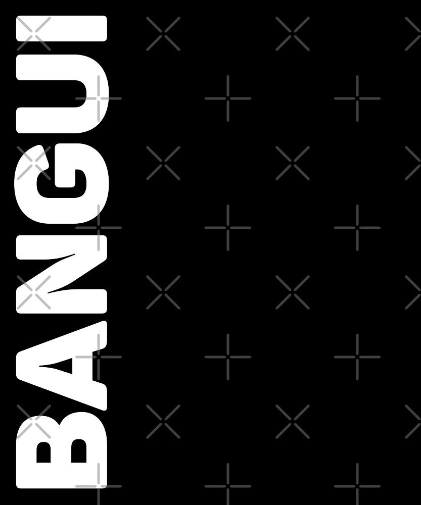 Bangui T-Shirt by designkitsch