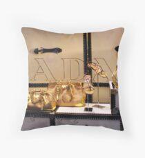 So...Prada Throw Pillow