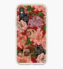 Vinilo o funda para iPhone Porque los pugs