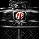 MG Grill Badge by Adrian Evans