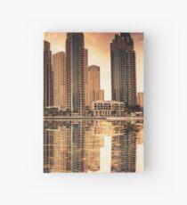 Dubai Skyline Hardcover Journal