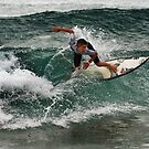 Narrabeen Surfer by Ian English