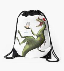 Season's Greetings Drawstring Bag