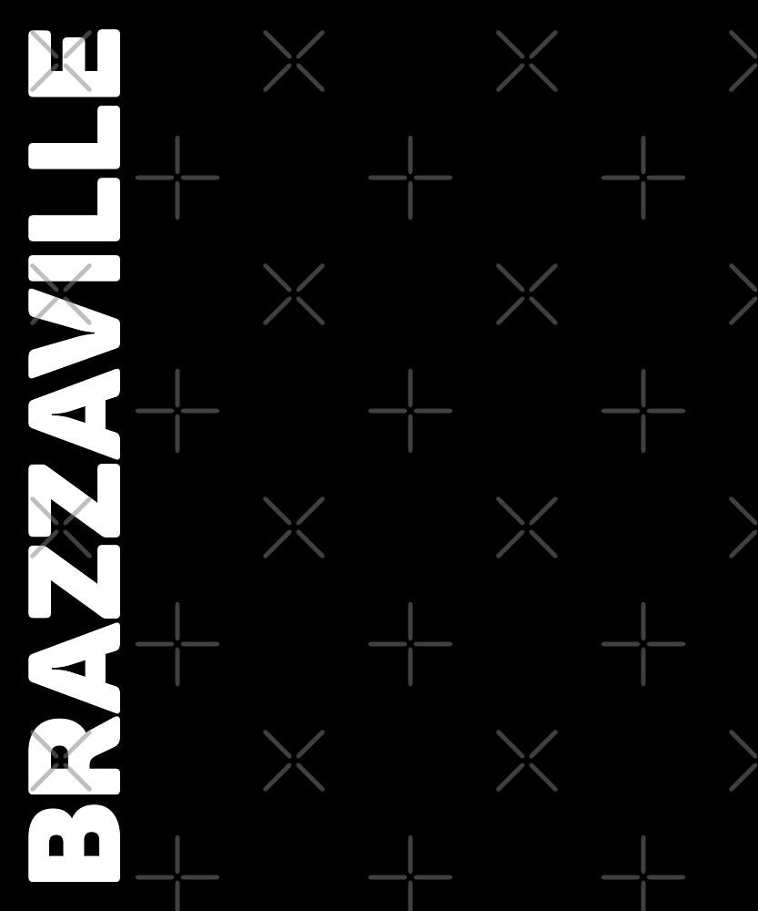 Brazzaville T-Shirt by designkitsch