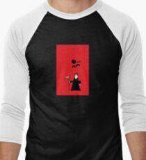 Spooky Grim Reaper  Men's Baseball ¾ T-Shirt