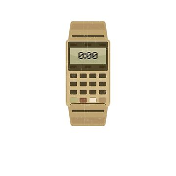 Vintage CALCULATOR WATCH Shirt | Gift TShirt For 80s by noirty