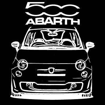 Abarth 500 by camisetascharly