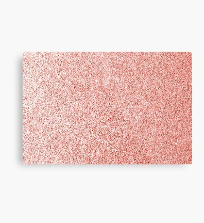 Living coral light glitter sparkles Metal Print