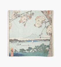 Hiroshige - Sumida River, the Wood of the Water god Scarf