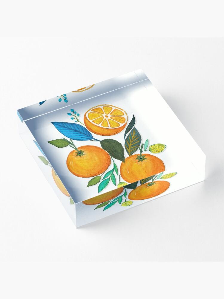 Vista alternativa de Bloque acrílico Lady Orange