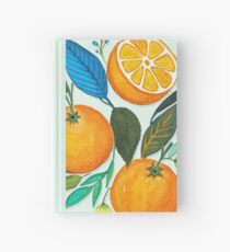 Lady Orange Hardcover Journal