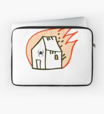 PIDER BURN DOWN THE HOUSE funny  Laptop Sleeve