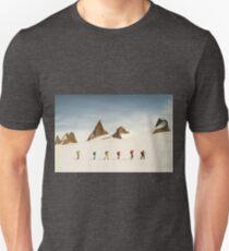 Camiseta unisex Vector de expedición antártica cara norte