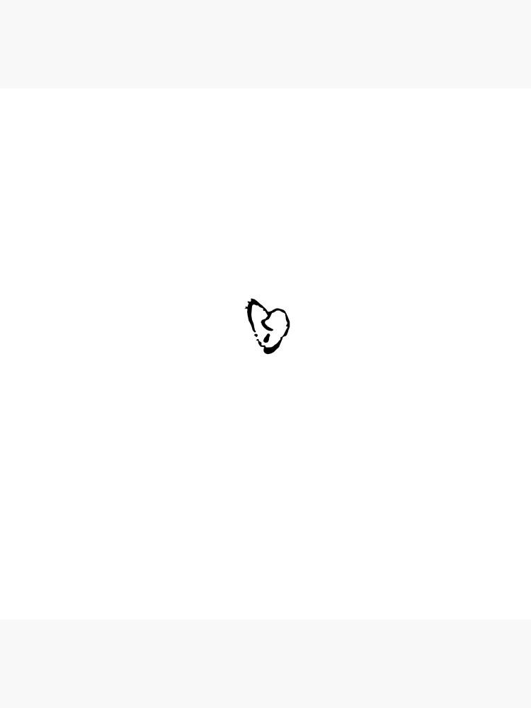 XXXTENTACION HEART TATTOO | Photographic Print