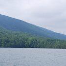 Mountains at Smith Mountain Lake by BernieG