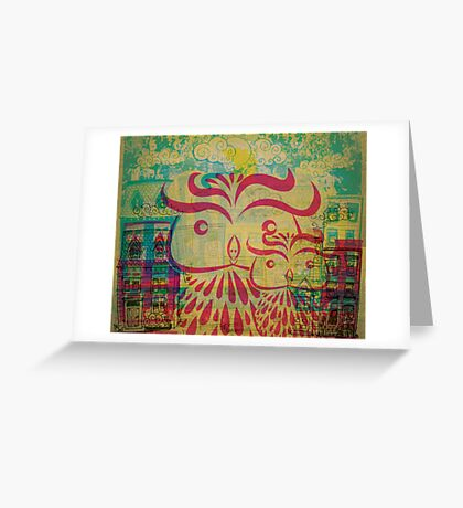 Owl City Madness Greeting Card
