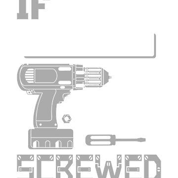 If Neil Can't Fix it We're All Screwed Stencil Gray by grouppixel