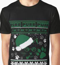 Meowy Purr Purr Graphic T-Shirt