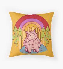 Pigsuit Throw Pillow