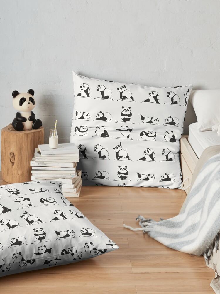 Alternate view of Panda Yoga Floor Pillow