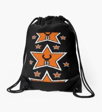 Customize My Minifig Star Logo  Drawstring Bag