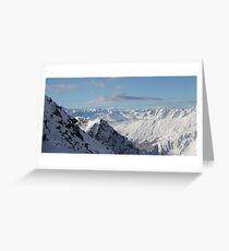 Alps Grußkarte
