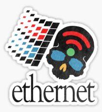 Wifisfuneral - Ethernet Sticker
