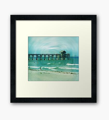The world is still here... Framed Print