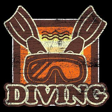 Diving hobby by GeschenkIdee
