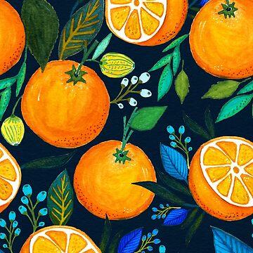 Orange Bloom by AnnyCeciliaWalt