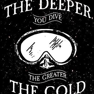 Diving deep sea by GeschenkIdee