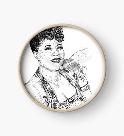 Ella Fitzgerald Famous Jazz Musician Clock