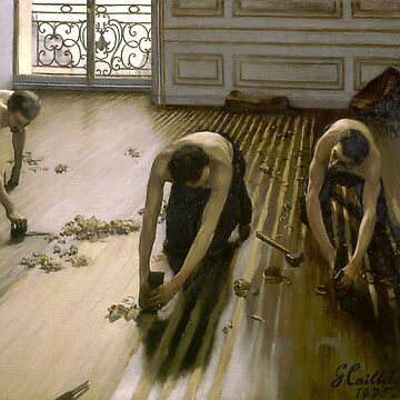 The Floor planers, Gustave Caillebotte by fourretout