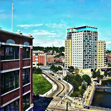 Providence RI - View From Waterplace Park II by SudaP0408