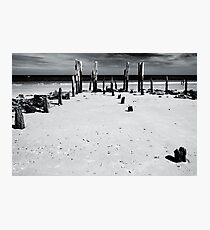 Port Willunga 1 (bw) Photographic Print