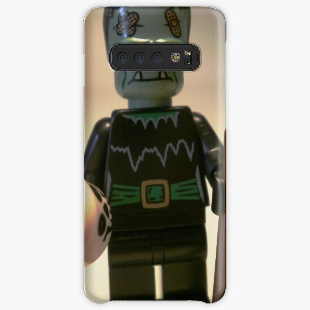 Frankensteins Monster Custom Minifigure with Skull Hüllen & Klebefolien für Samsung Galaxy