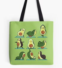 Avocado Yoga Tote Bag