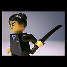 Japanese Yakuza Gokudō Gangster Custom Minifigure by Customize My Minifig