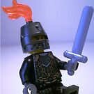 Dragon Knight with Chain Mail, Chain and Helmet by Customize My Minifig