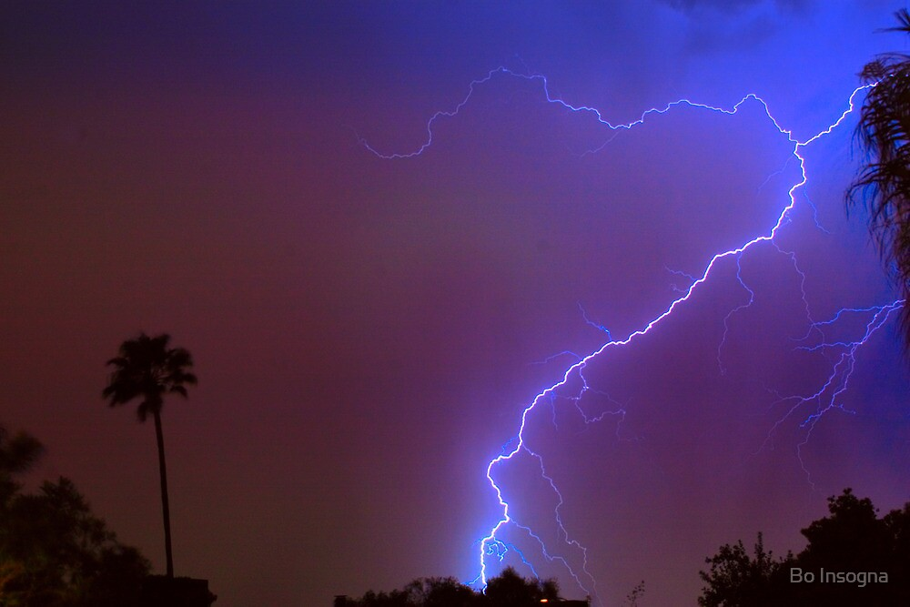 Lightning strike out by Bo Insogna