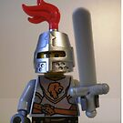 Lion Knight Armor with Lion Head and Belt by Customize My Minifig