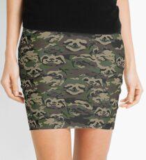 Sloth Camouflage Mini Skirt