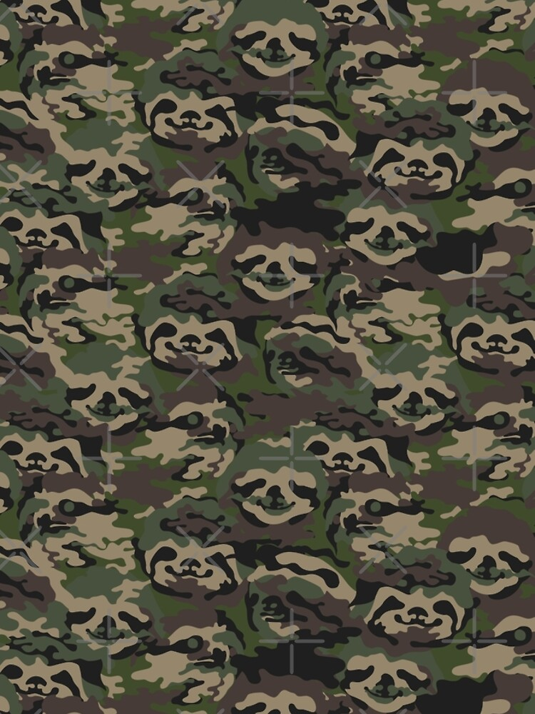 Sloth Camouflage by Huebucket