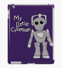 My Little Cyberman iPad Case/Skin