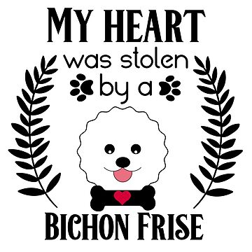 Funny Bichon Frise Mom Puppy Dog Dad Puppies Rescue Adoption by LoveAndSerenity