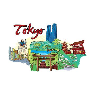 Tokyo Japan - Beautiful Places Around The World by Ding-One